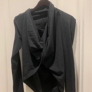 Lululemon cross front pullover sweater size 6